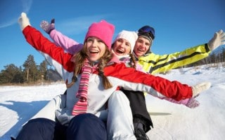 Winter School Bus Group Trips