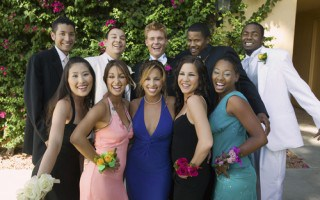 Grad or Prom Party Bus for Your Group Transportation