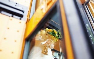 Wedding School Bus Transportation