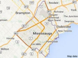 Mississauga Location Service Area