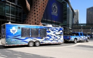 Tornto Maple Leafs - Raptors Bus Rentals ACC