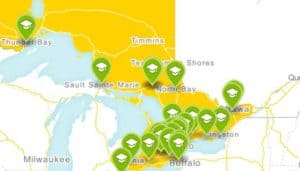 Ontario GTA Bus Trip Destinations
